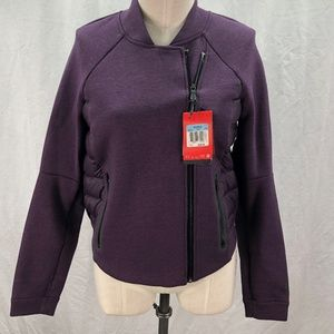 Nike M Purple Double Breasted Jacket Goose Down